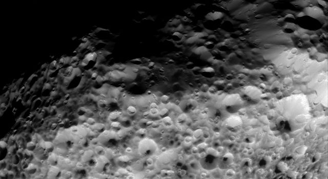 hollow moon surface